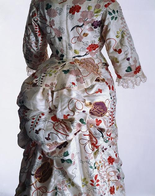 1870 Court Dress