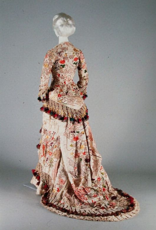 1880s Day Dress