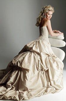 Modern Day Wedding Gown