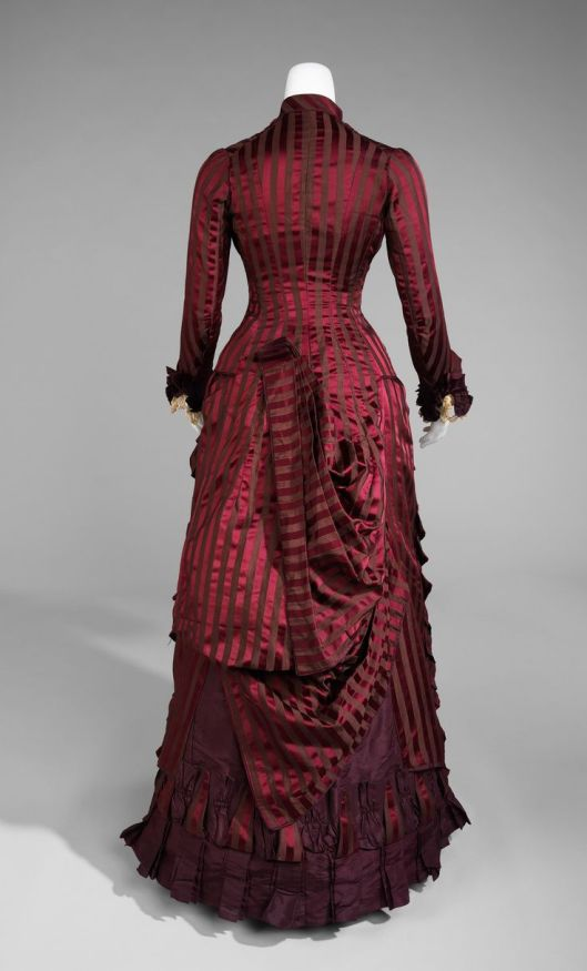 Wedding dress, c. 1878; Metropolitan Museum of Art (2009.300.18a, b)