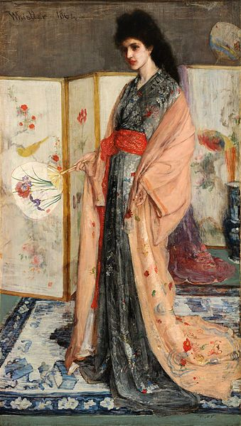 James McNeill Whistler, La Princesse du pays de la porcelaine