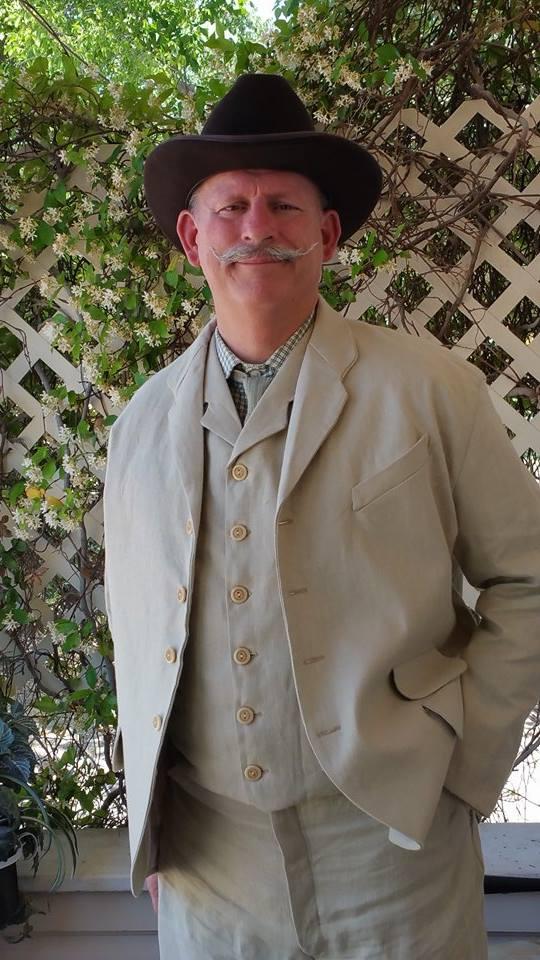 My new linen suit.