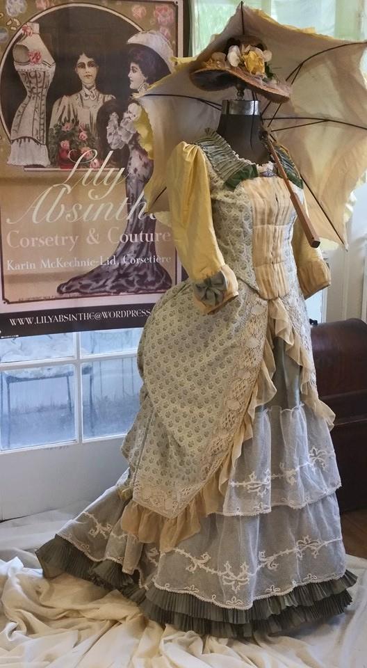 Silk Chffon Dress2