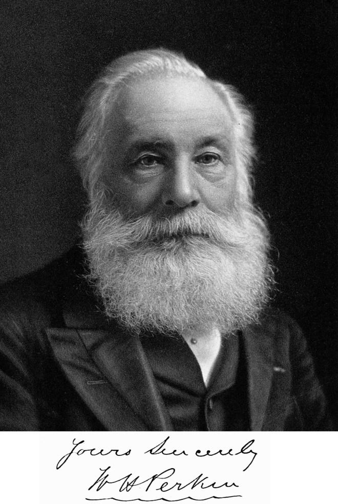 William Henry Perkin in latter years.