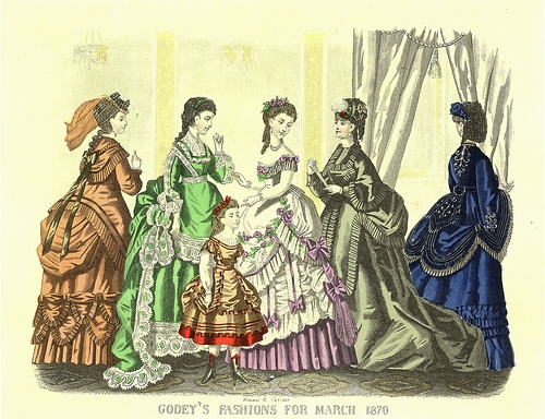 Godey's Lady's Book , March 1870