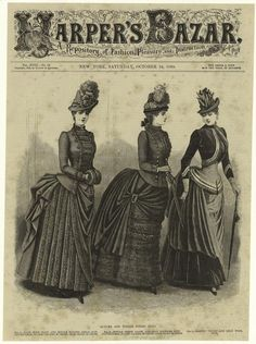 Cover Harpers Bazar 1885