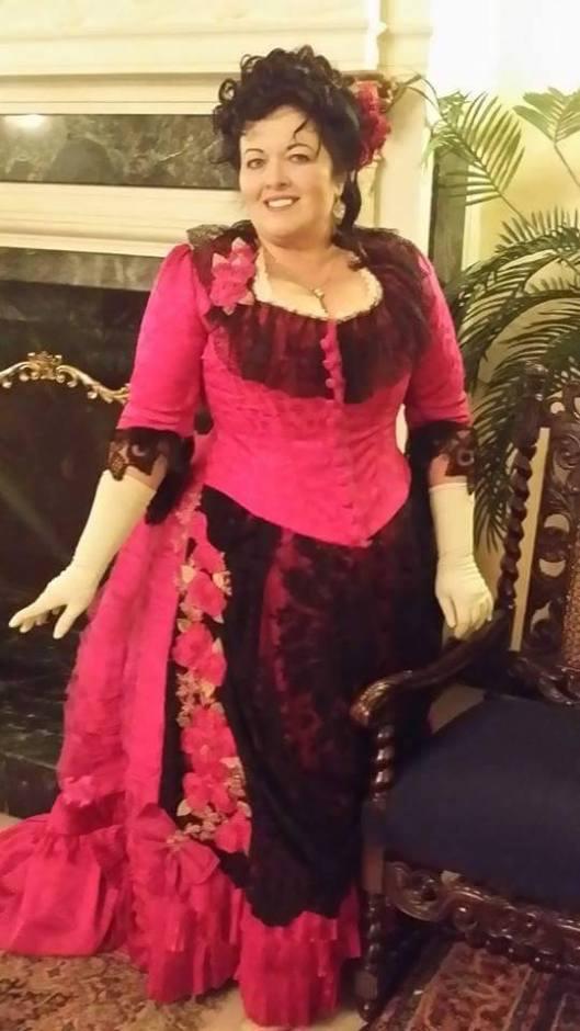 Karin_Fuschia Dress1