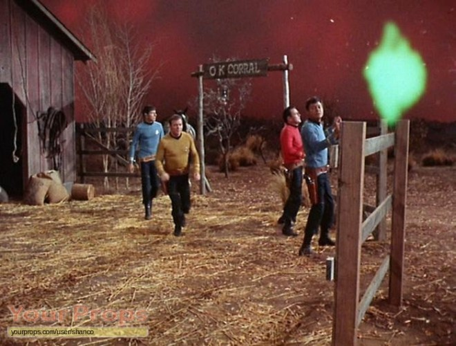 Star-Trek-The-Original-Series-DeForest-Kelley-s-script-for-Spectre-of-the-Gun-4
