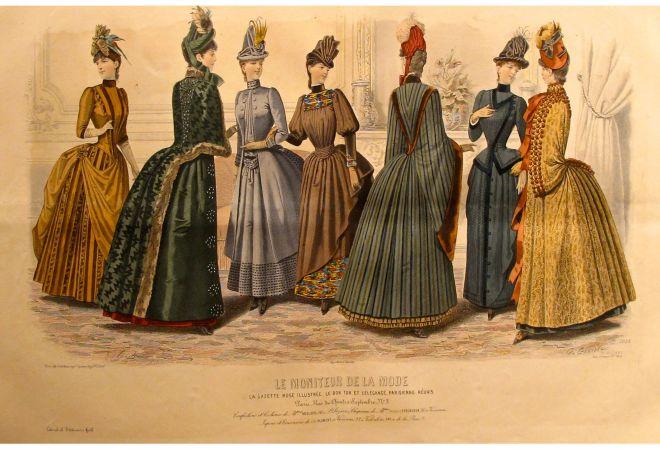 Le Moniteur de la Mode, September 1885