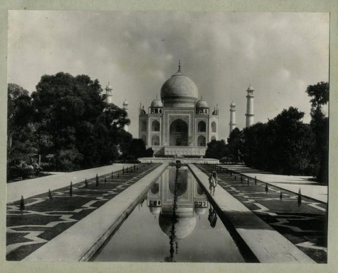 c.1890's PHOTO INDIA TAJ MAHAL AGRA
