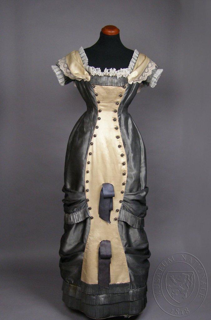 Princess Line Dress c. 1878