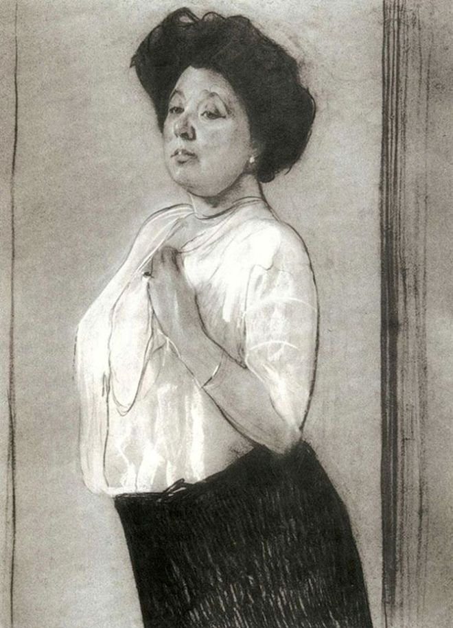 Nadezhda_Lamanova_by_Valentin_Serov_1911