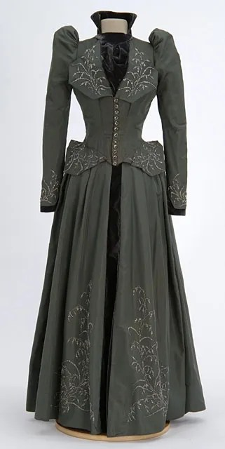 Wedding Dress, 1891; Minnesota Historical Society (9444.10.A,B)