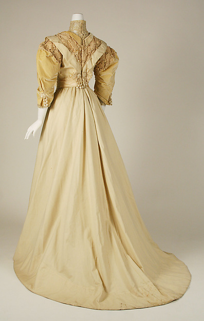 Paquin Day Dress - Three-Quarter Rear
