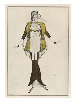 Jeanne Paquin - Hobble Skirt