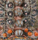 More detail of beadwork.