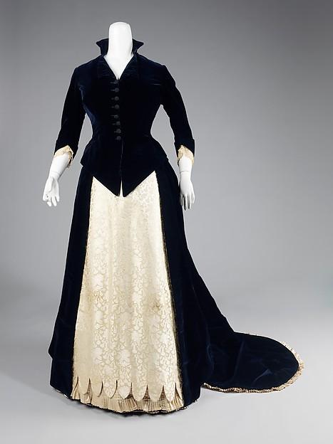 Evening Dress 1881