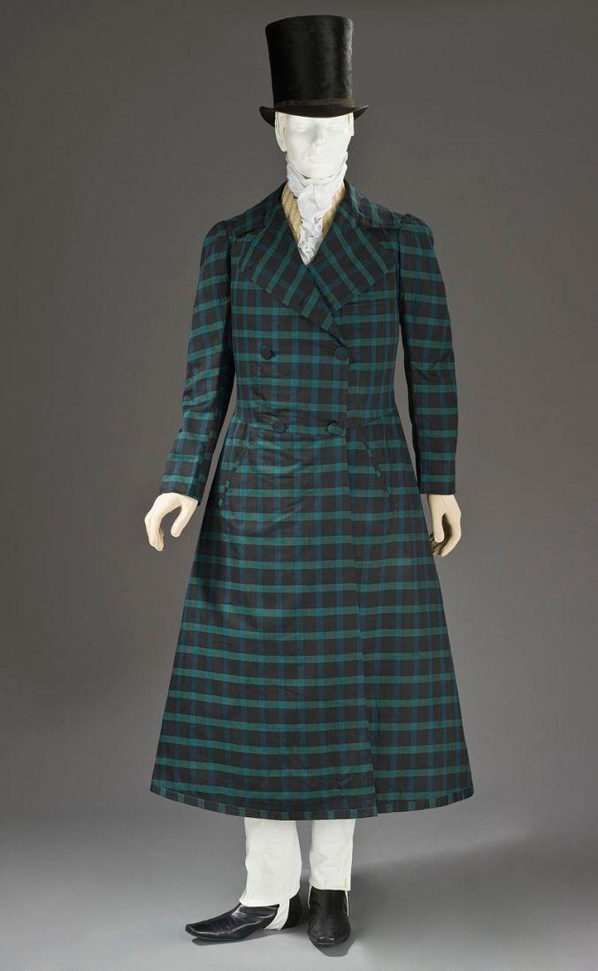 Man's_silk_and_wool_twill_frock_coat_c._1820