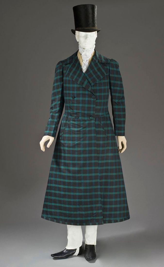 Man's_silk_and_wool_twill_frock_coat_c._1820