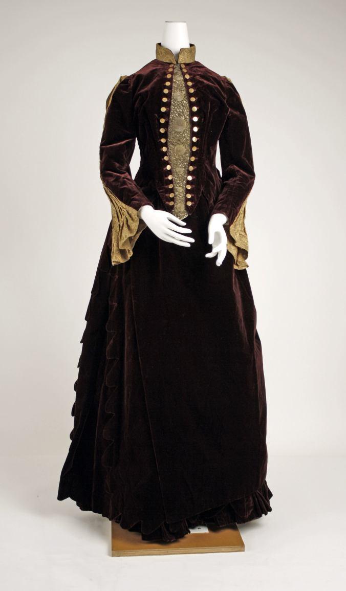Day Dress 1887 - 1889 1