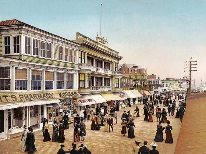 Atlantic City Boardwalk c. 1900