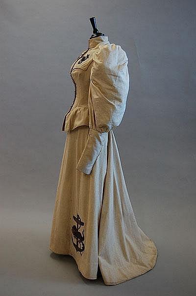 Yachting Dress c. 1895