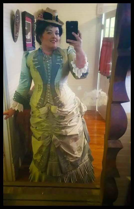 Strathearn Ranch Day Dress 1880s Karin