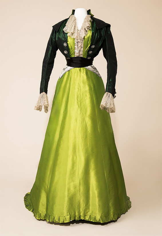 Worth Afternoon Dress 1907