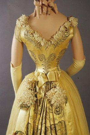 Evening Dress c. 1892 - 1896