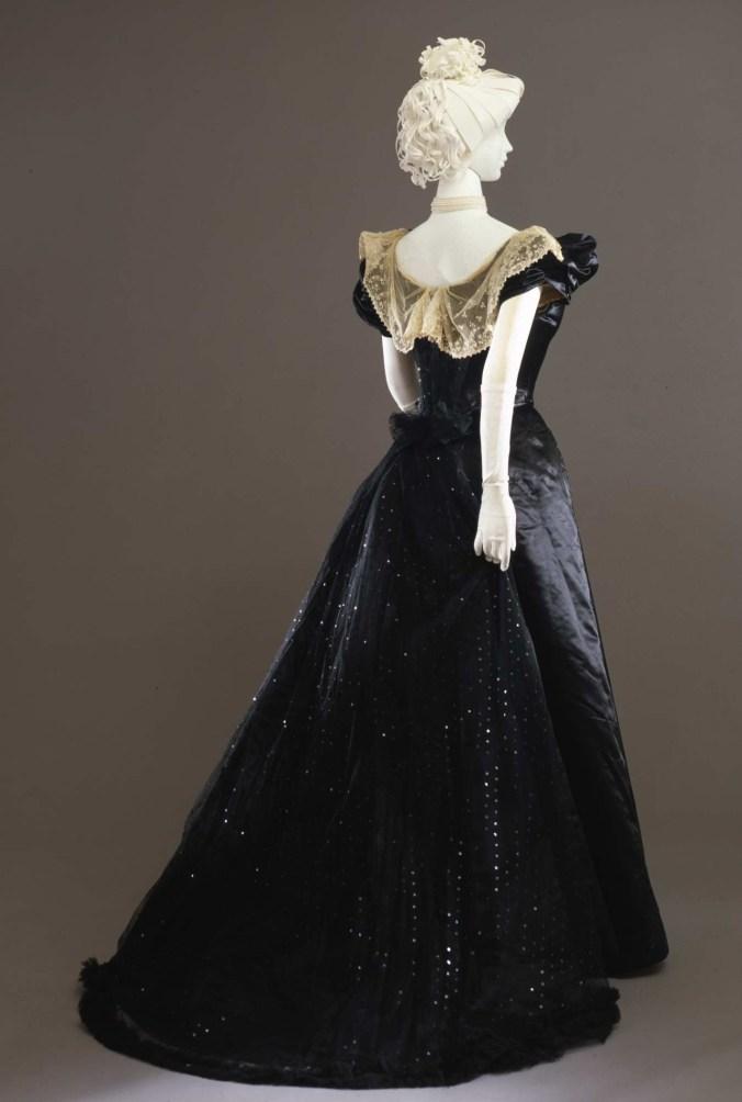 Worth Evening Gown c. 1897-99