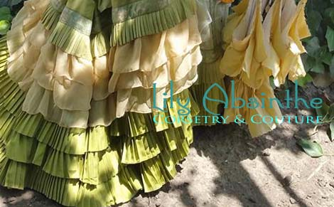 Lily Absinthe_Chartreuse Pleats