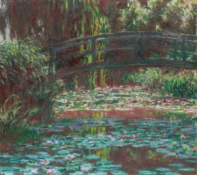 Monet Water Lily 1900