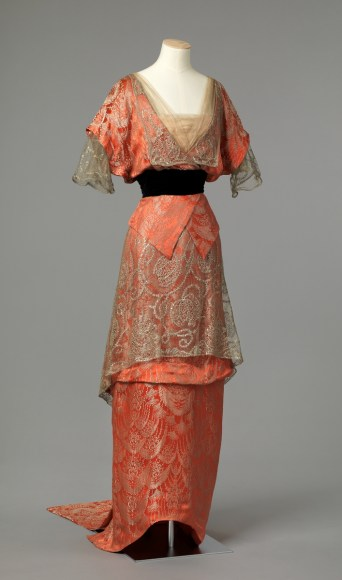 Evening Dress, c. 1913 - 1914; Nasjonalmuseet (OK-1962-0008)