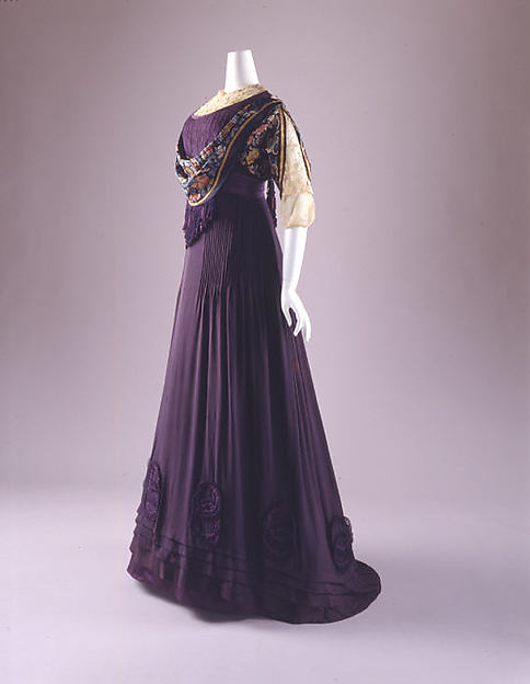 Margaine-Lacroix c. 1908 - 1910 Dress