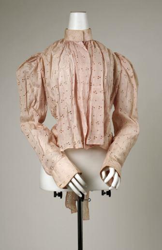 Shirt Waist, 1892; Metropolitan Museum of Art (C.I.59.32.4)