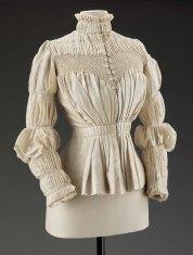 Shirt Waist, c. 1890s; Museum of Fine Arts Boston (2006.1180)
