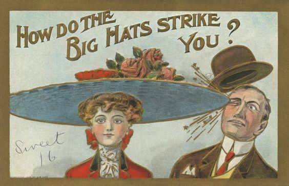 Hat Strike1 1900s satire