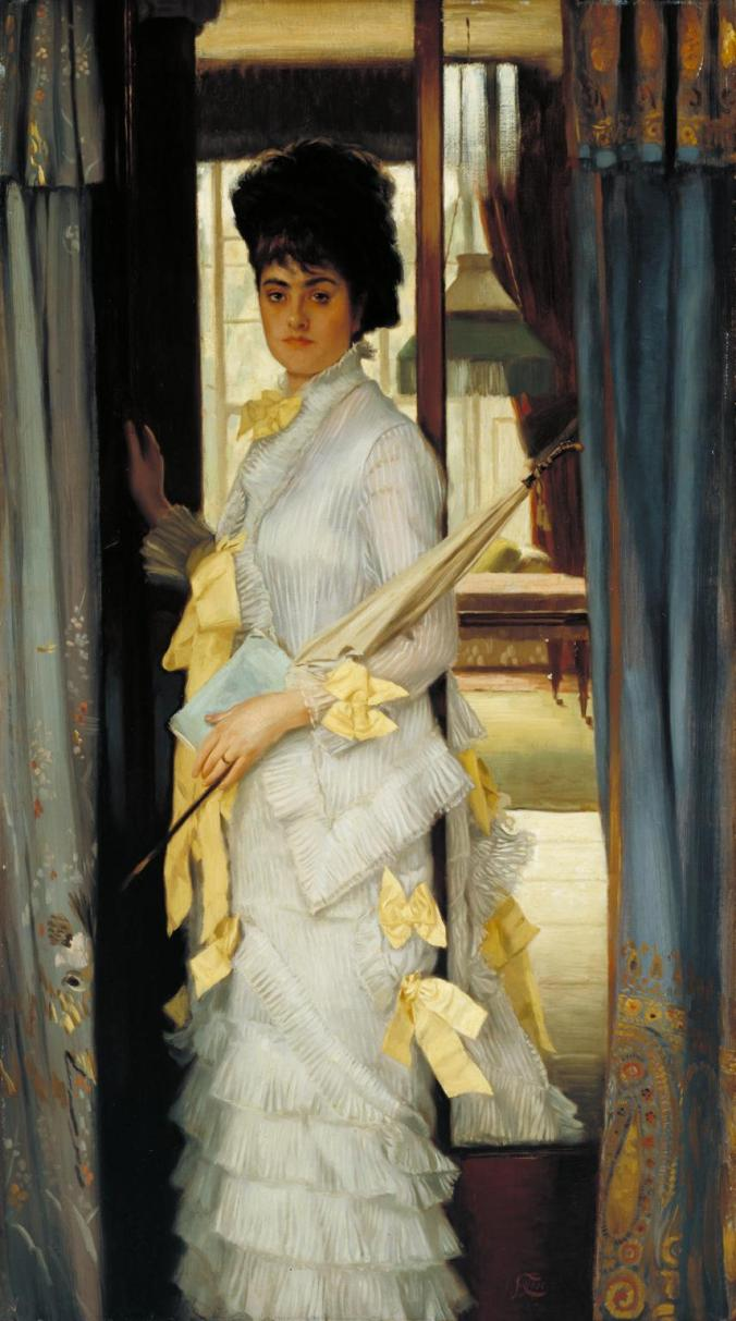 Portrait 1876 by James Tissot 1836-1902