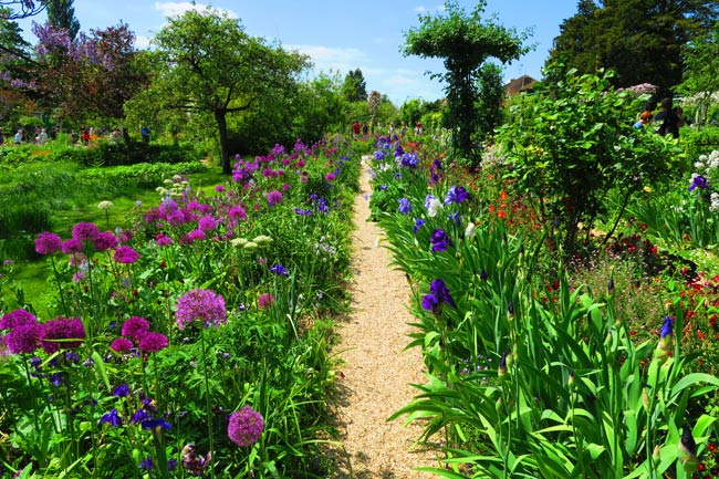 Giverney Garden Monet
