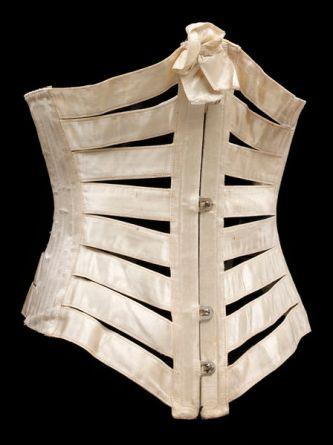 Ribbon Corset, c. 1895; V&A Museum (T.18-1958)
