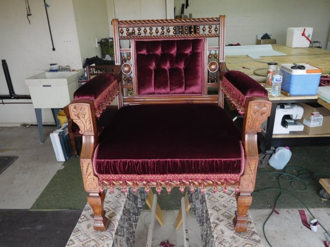 Tombstone Chair