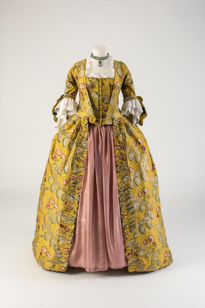 Fashion Museum Bath robe à la française, 1760s