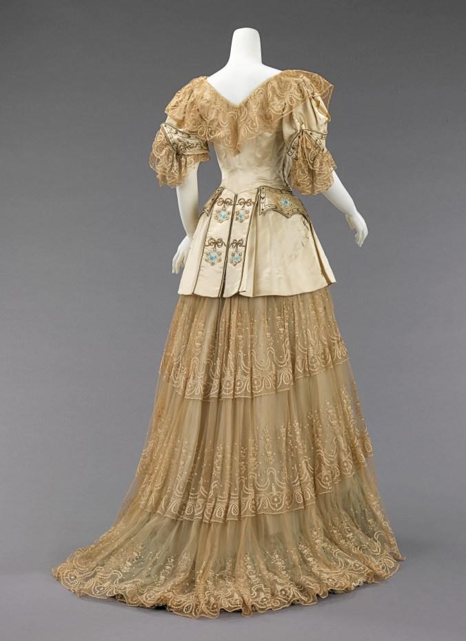 Rouff Evening Dress c. 1895