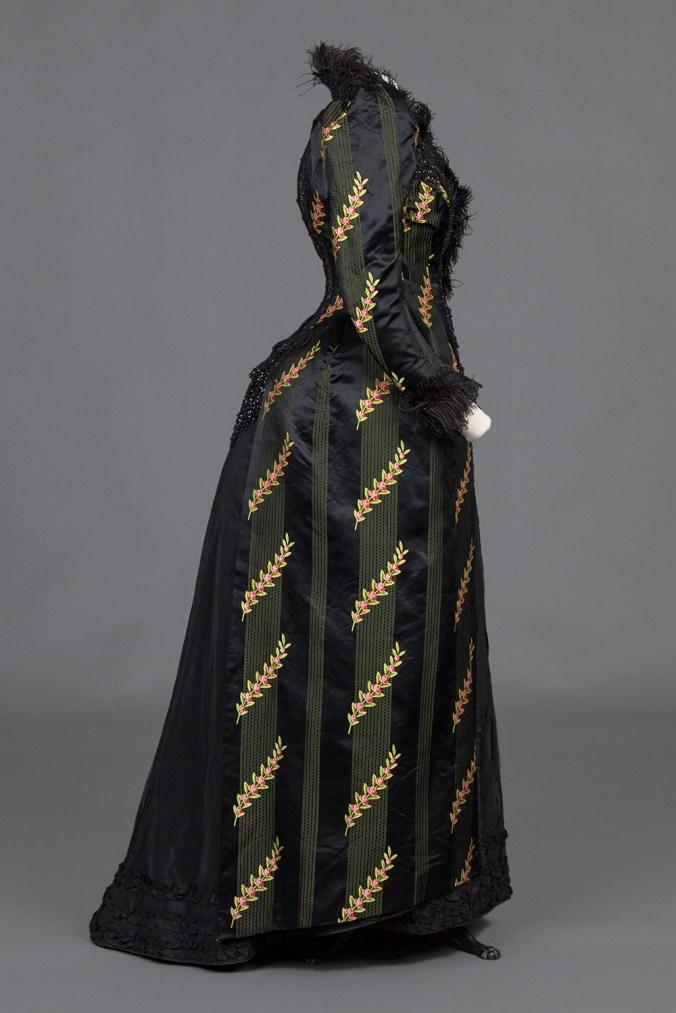 Reception Dress c. 1890 Day Dress
