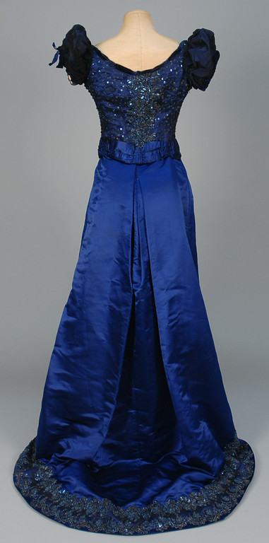 Whittaker Auctions1 Evening Gown c. 1880s