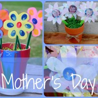 Lily & Frog Friday 5: 5 Toddler Made Mother's Day Flowers