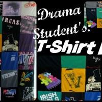 Drama Club T-Shirt Blanket