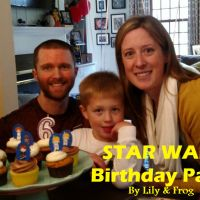 Star Wars Birthday Party Clothing