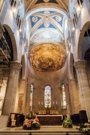 Lucca Cathedral Tuscany Italy