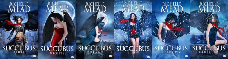 La série: Succubus ou Georgina Kincaid